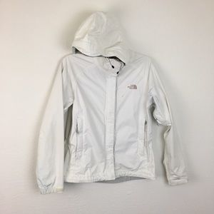 The North Face Hyvent White Womens Jacket Small